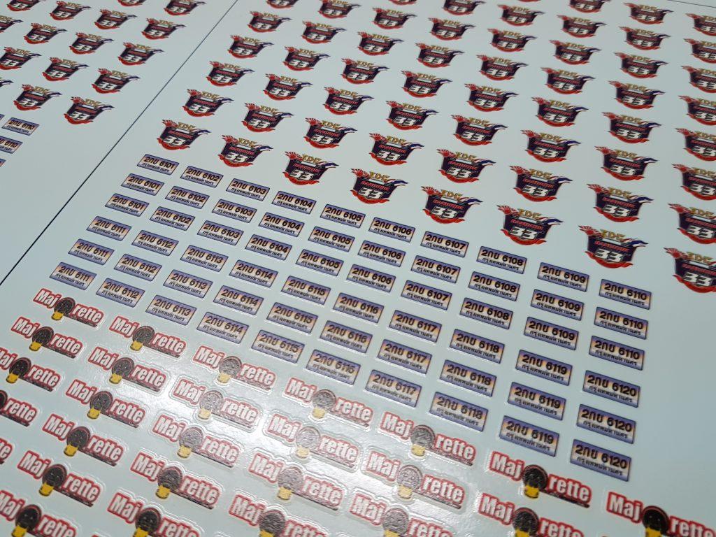พิมพ์ Decal Paper กระดาษรูปลอกน้ำ (UV print Decal Paper )