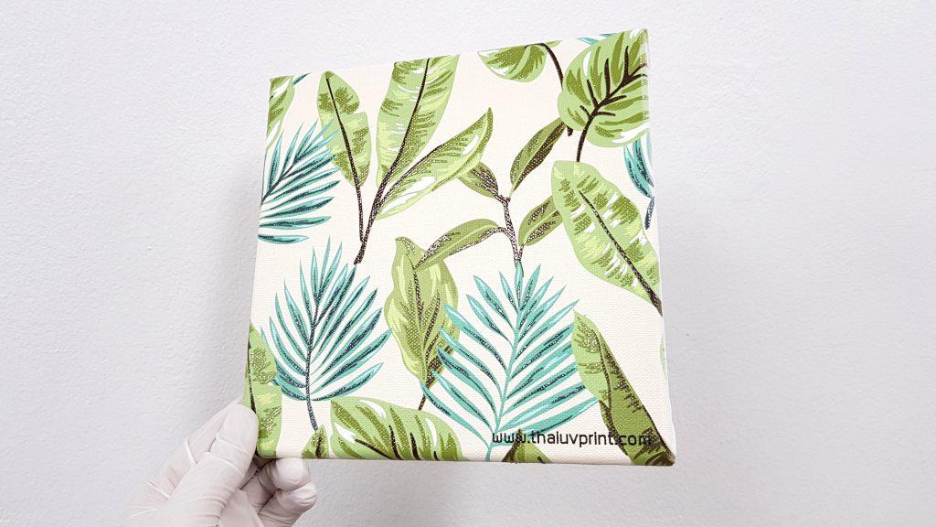 canvas uv print ภาพพิมพ์แคนวาส ขึงเฟรมกรอบไม้