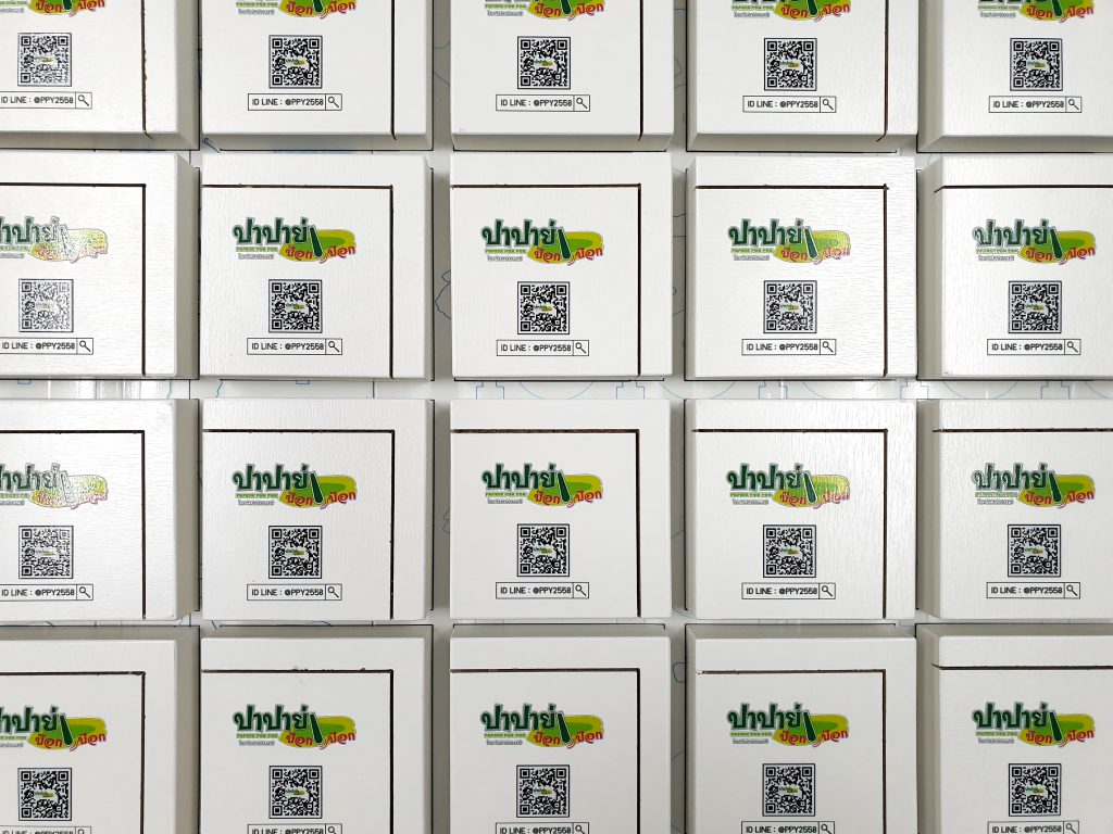 พิมพ์ไม้อัดสีขาว Plywood UV Print