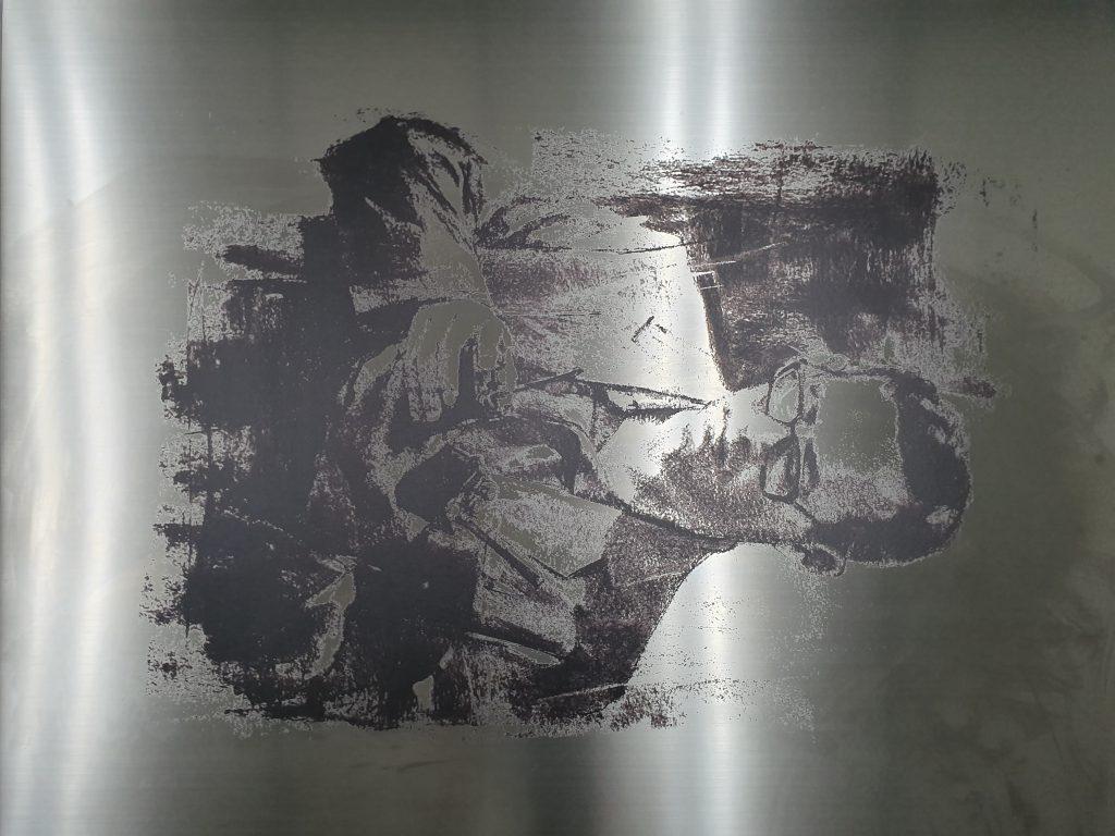 stainless uv print