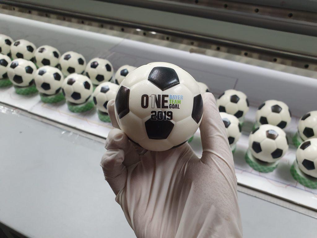 พิมพ์โลโก้ลูกบอลมือบีบ
