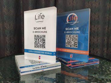 ป้ายคอนโด Life Ladprao QR code