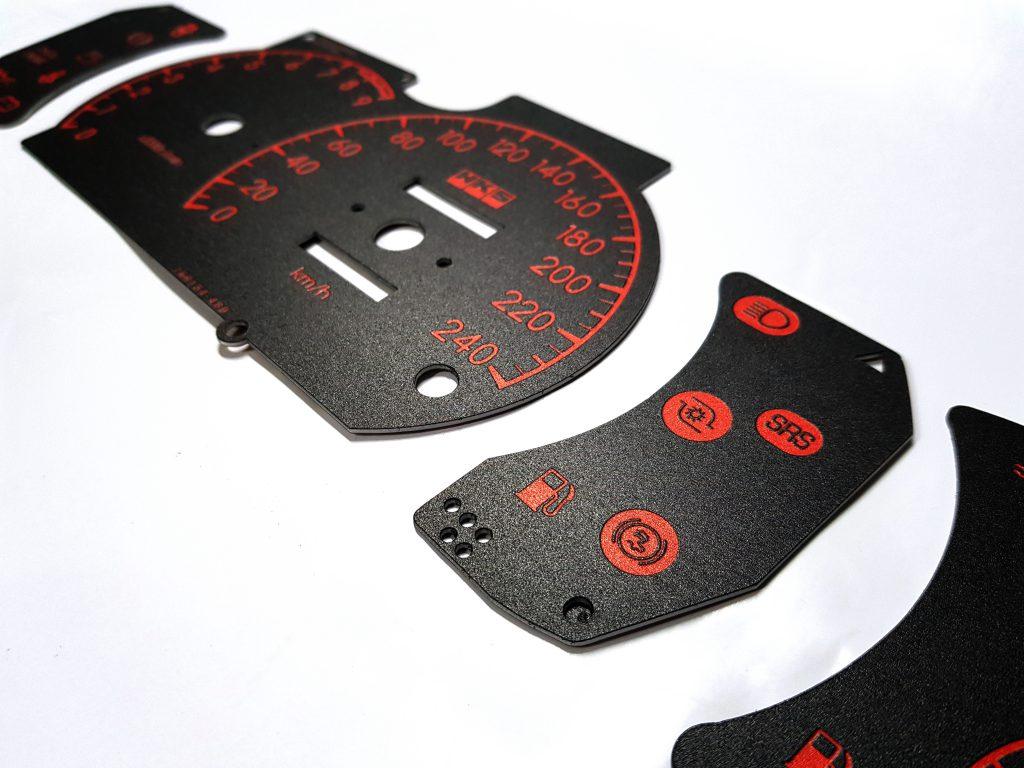 พิมพ์ UV ไมล์รถยนต์ดิจิตอล ไมล์ระยะทาง หน้าปัดรถ