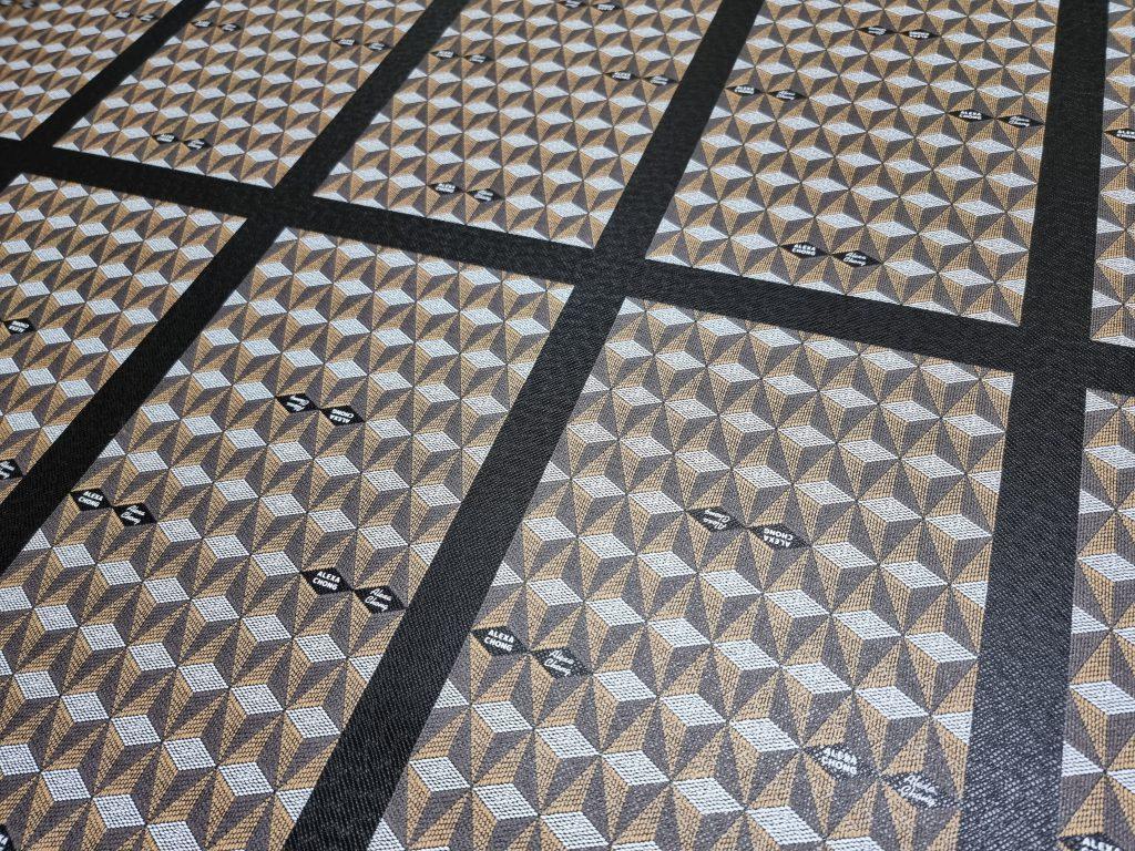 Print PVC PU leather bag